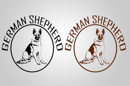 #51 para German Shepherd Logo por akritidas21