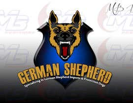 #11 para German Shepherd Logo por bernarddesign