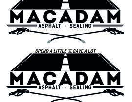 #62 for Design a Logo for Macadam Asphalt Sealing by GoonzDesigns