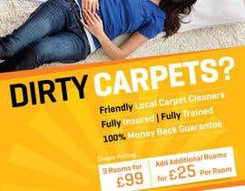 nº 26 pour Design a Flyer for a carpet cleaning business. DOUBLE sided par samazran