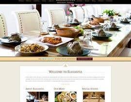 Nro 16 kilpailuun Design a Website Home page for luxuries resturant käyttäjältä rebonmalik