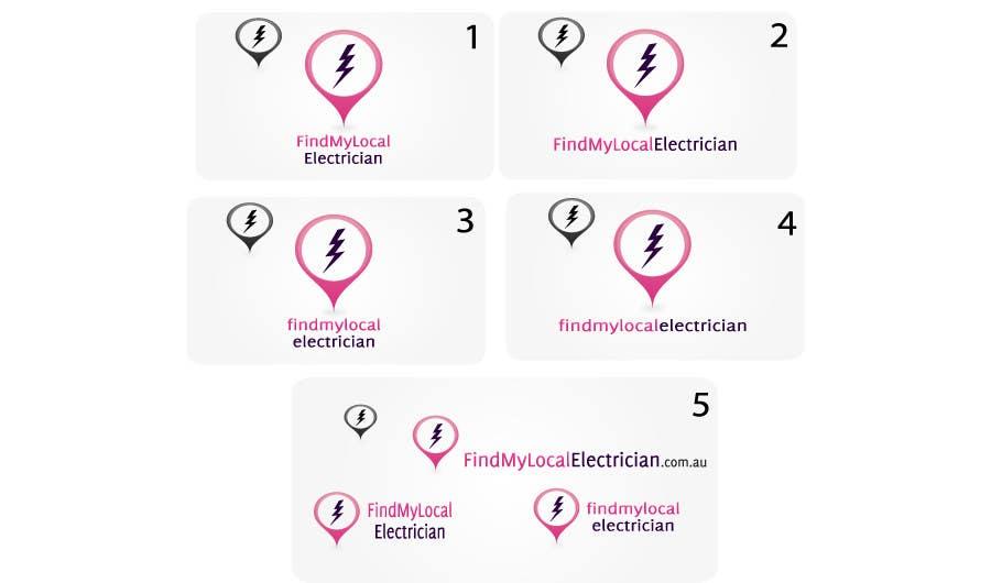 Participación en el concurso Nro.                                        85                                      para                                         Logo Design for findmylocalelectrician
