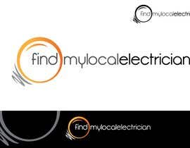 #187 para Logo Design for findmylocalelectrician de sikoru