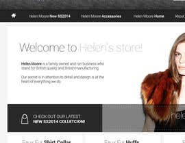 #25 untuk Homepage mock up for ecommerce site oleh aleksejspasibo