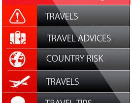 #6 para Design main and detail pages for travel security app on Blackberry por MagicalDesigner
