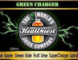 Nro 20 kilpailuun I need some Graphic Design for Green Juice Label käyttäjältä rachelbreizes