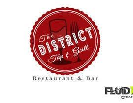 Nro 31 kilpailuun The District Tap & Grill käyttäjältä fluidxcreations