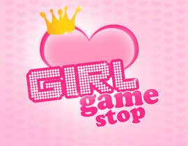 #14 untuk Logo and background. Girls Games. oleh Patrycjapati