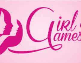 #13 untuk Logo and background. Girls Games. oleh christyrajvel
