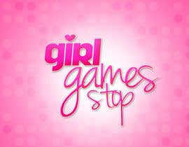 #19 untuk Logo and background. Girls Games. oleh dominativ