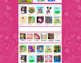 #8 untuk Logo and background. Girls Games. oleh Spector01