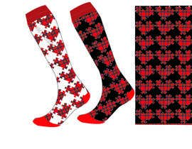 #52 untuk Design some Fashion for a sock oleh mariablasiak