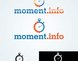 #76 para Design a Logo for my website moment.info por parmitu