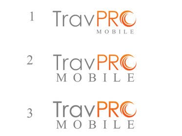 #353 for Design a Logo for a Travel Agent (B2B) Mobile Platform (TravPro Mobile) by rraja14