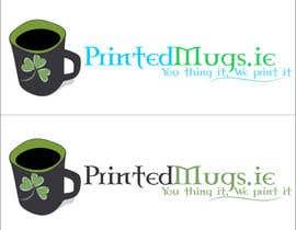anthonymendoza91 tarafından Design a logo for a personalised mugs company - printedmugs.ie için no 19