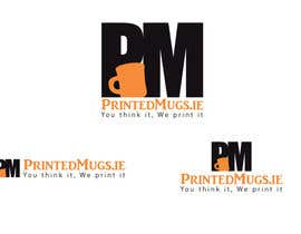 yacineghommidh tarafından Design a logo for a personalised mugs company - printedmugs.ie için no 30