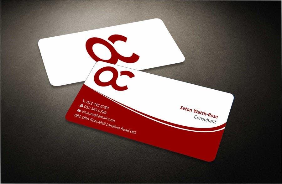 Penyertaan Peraduan #30 untuk Design some Business Cards for Accounting / Consulting Business