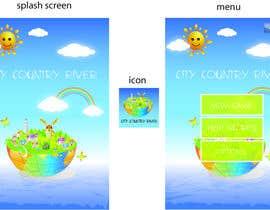 #2 untuk Logo/splash screen and main menu design for game app oleh boka011