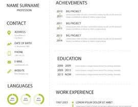 dipenrautar tarafından Infographic Resume için no 8