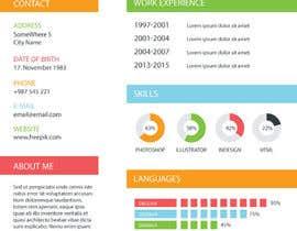 dipenrautar tarafından Infographic Resume için no 9