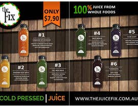 #13 untuk Design Poster for our Juice Company oleh abdolilustrador