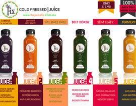 #16 untuk Design Poster for our Juice Company oleh adhitya7393