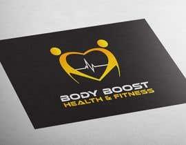 #66 untuk Creative logo design - 'Body Boost Health & Fitness' oleh MajdGH