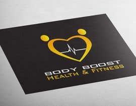 #67 untuk Creative logo design - 'Body Boost Health & Fitness' oleh MajdGH