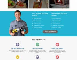 #3 for Design mockup for a services outsourcing website by saivisiontech
