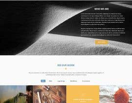 #24 for Design mockup for a services outsourcing website by kalamal