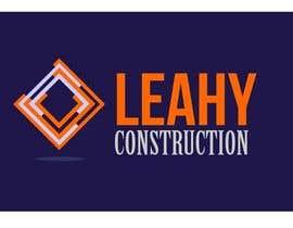 #58 untuk Design a Logo for Leahy Construction oleh tinaszerencses