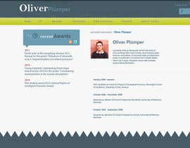 #95 for Personal Page (CV Website) af SJ5Designs