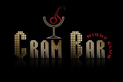 #24 untuk Design a Logo for CRAM BAR (Nightclub) oleh akritidas21