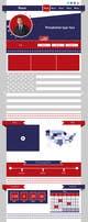Miniatura da Inscrição nº                                                 7                                              do Concurso para                                                 Creative Website Theme for Photoshop UI Experts