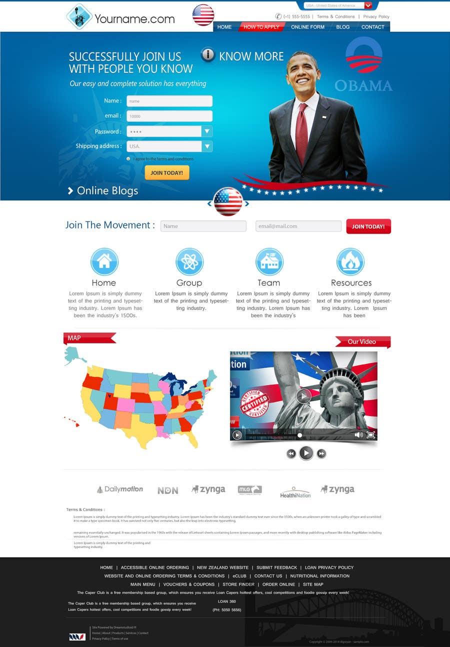 Inscrição nº                                         30                                      do Concurso para                                         Creative Website Theme for Photoshop UI Experts