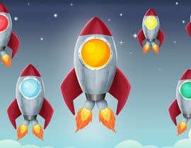 MonikaLeosz tarafından Design 11 New rockets for my game için no 25