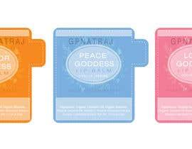 gpnatraj tarafından Professional Label design for Beauty products. 3 LIP BALM label designs. için no 2