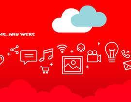 juanmikes tarafından Design a Facebook page cover graphic for cloud file storage için no 23