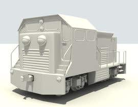 #7 for 3D-model of a quirky locomotive af mekhack