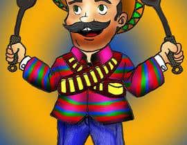 ivasamodiva tarafından Vectorize Illustration Pancho için no 20