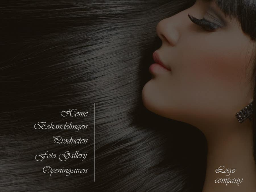 #1 for Design Vintage look for website Beauty Salon by Accellsoft