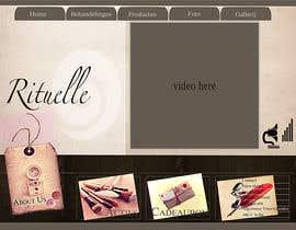#9 for Design Vintage look for website Beauty Salon by mnet420