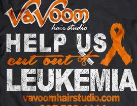 sumonaafroje27 tarafından Design a t-shirt for our hair salon and help fight cancer için no 44