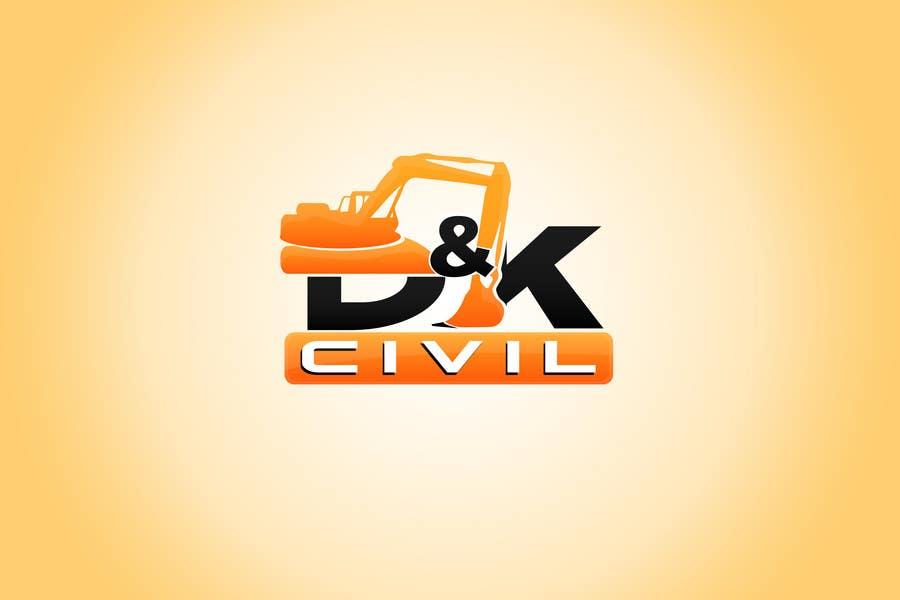 Bài tham dự cuộc thi #                                        26                                      cho                                         Design a Logo for D & K CIVIL
