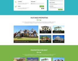 #28 for Design a Website Mockup for Realestate Portal by husainmill