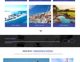 IT4BSsystem tarafından Design a Website Mockup for Realestate Portal için no 32