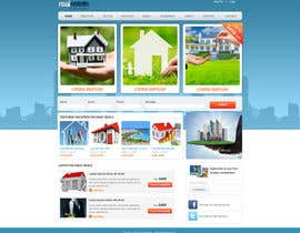 patil1987 tarafından Design a Website Mockup for Realestate Portal için no 36