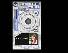 #14 for Design an App Mockup for a Futuristic Mission Impossible type interface by UniateDesigns