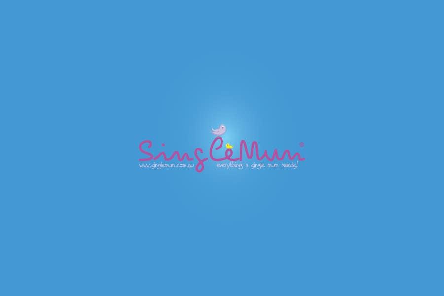 Logo Design for SingleMum.com.au için 103 numaralı Yarışma Girdisi
