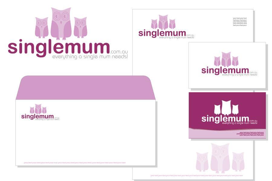 Příspěvek č. 341 do soutěže Logo Design for SingleMum.com.au
